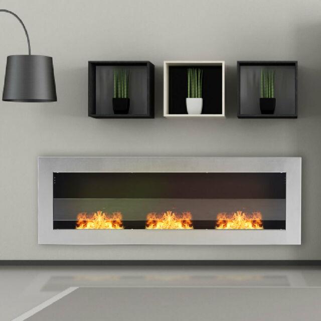 Bio Ethanol Fireplace Juliet 1500mm, Ethanol Burning Fireplace