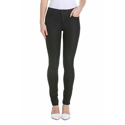 NEW Miss Shop Wetlook Skinny Jean Black