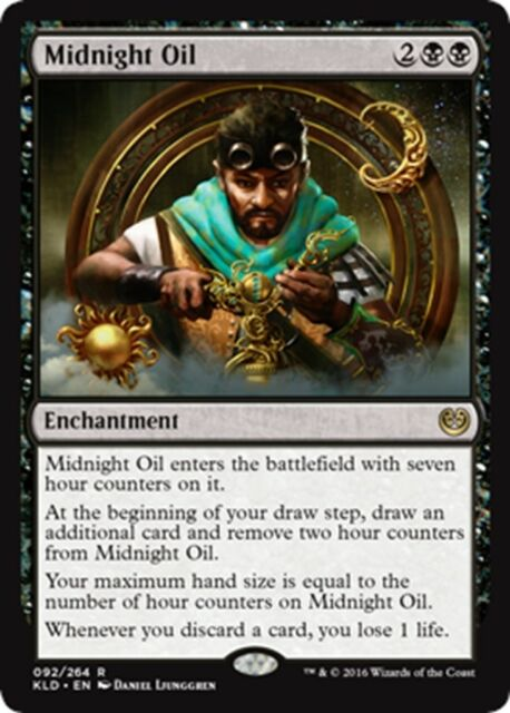 MTG Magic - (R) Kaladesh - Midnight Oil - NM