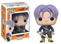 Funko Pop Animation Dragon Ball Z Trunks Vinyl Figure Collectible Toy 107 on sale