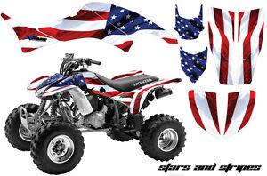 ATV-Graphics-Kit-Decal-Quad-Sticker-Wrap-For-Honda-TRX400EX-1999-2007-USA-FLAG