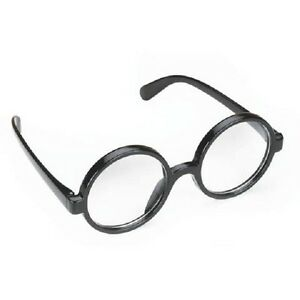 harry potter youth black glasses costume