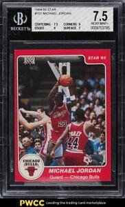 1984-85 Star Basketball Michael Jordan ROOKIE RC #101 BGS 7.5 NRMT+