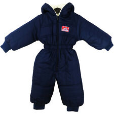 1af9817766 item 2 Insulated Padded Kids Snow Suit Winter Girls Boys Baby All-In-One 12  - 4 Yrs UK -Insulated Padded Kids Snow Suit Winter Girls Boys Baby  All-In-One 12 ...