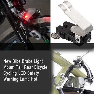 Bike Brake Light Mount Tail Rear Bicycle Cycling LED Safety Warning AU