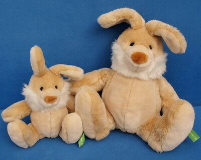 2 X Kik-erik-i Sigikid Coniglio 40 + 25 Cm Peluche Morbido Orsacchiotto Rabbit-mostra Il Titolo Originale Numerosi In Varietà