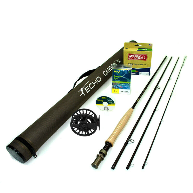 Echo Carbon XL 490 Fly Rod Outfit   4wt 9'0