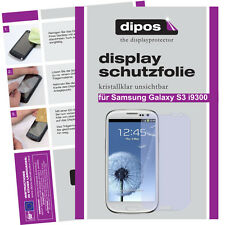 2x Samsung Galaxy s3 i9300 Pellicola Protettiva Proteggi Schermo Chiaro Pellicola INVISIBILE