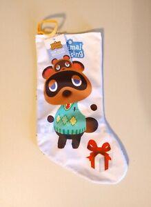 "Nintendo Animal Crossing New Horizons Tom Nook 18"" Christmas Stocking"