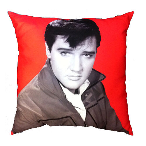 Elvis photo grand carré coussin