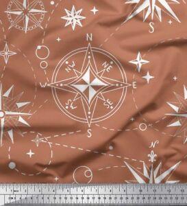 Soimoi-Fabric-Direction-Compass-Nautical-Printed-Craft-Fabric-BTY-NC-1E