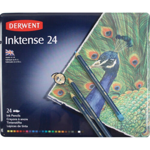 Derwent Inktense 24 Pencil Tin Set