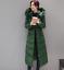Manteaux Parkas longues de d'hiver slim Zip Outwear coton vers des bas femmes des vestes fit chaud le UUrxfAq