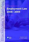 Blackstone's Statutes on Employment Law: 2008-2009 by Oxford University Press (Paperback, 2008)