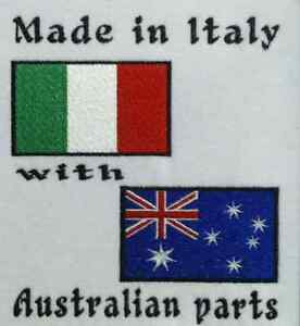 Made In Italy with Australian Parts italy /& Australia Flags Baby Bodysuit