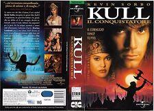 KULL IL CONQUISTATORE (1997) vhs ex noleggio