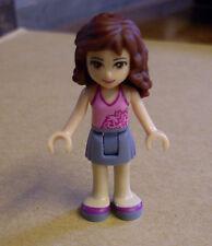 Lego Friends Figur - Olivia ( hellblau rosa Magenta Oliwia Mädchen ) Neu