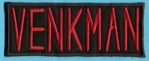 VENKMAN Ghostbusters Name Tag Patch with male//HOOK backing