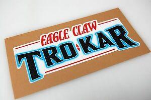 TroKar Bass Boat Carpet Graphic Multiple Sizes Decal Logo EBay - Decals for boat carpetbass boat decals ebay