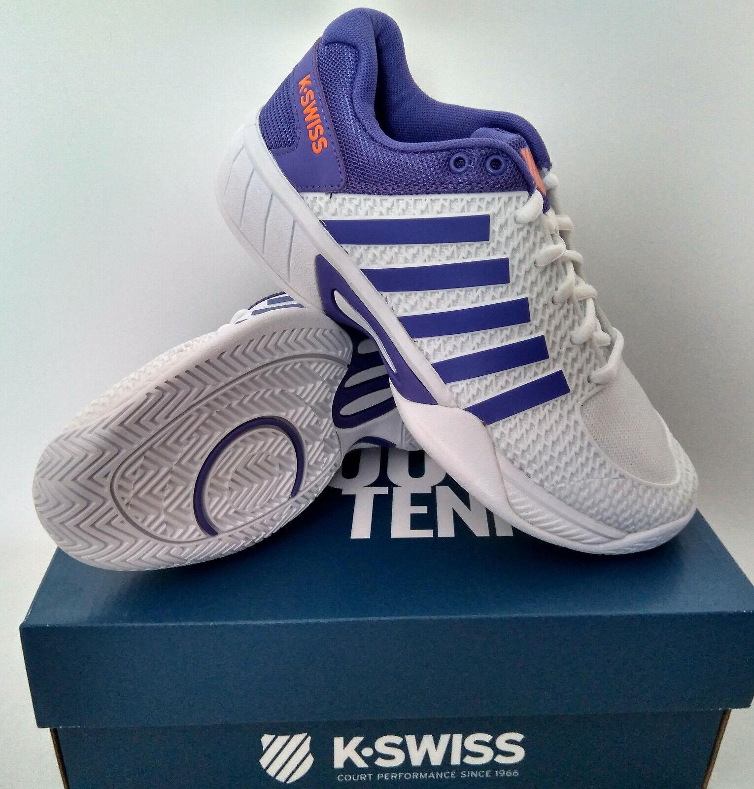 TOPANGEBOT  K-Swiss Express Light Light Light weiß lila, Damen Tennisschuhe, e ff26b8