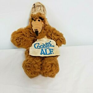 Vintage-Cooking-With-Alf-Burger-King-Hand-Puppet-Plush-1988