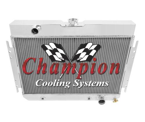 A//C Duty 1963-1968 Chevy Bel Air Champion 4 Row Alliant Radiator