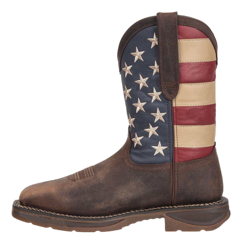 NEW NEW NEW Uomo Rebel By Durango Steel Toe American  Flag Western Work Boot DB020 2c67d8