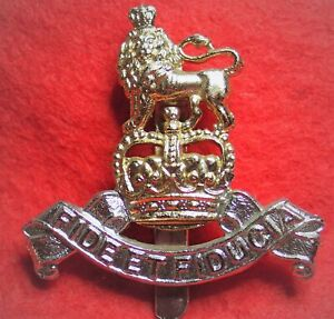 Army Pay Corps Anodised Large Cap Badge with Slider Q.C