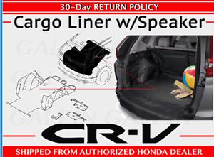 Genuine OEM Honda CR-V W// Speaker Cargo Liner 2017-2019 CRV Rear Hatch Touring