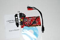 Cmi8738 Pci 5.1 6 Channels Digital Audio Sound Card Optical Output A385