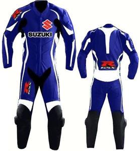 Suzuki Gsxr Combinaison De Moto En Cuir Courses Moto En Cuir Veste Pantalon Yzrkj1e2-07222832-763201730