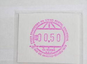 Automatenmarken-postfrische-Sammlung-aus-aller-Welt-Brasilien-Nr-1-etc