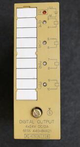 SIEMENS-SIMATIC-S5-Digital-Output-4x24VDC-2A-6ES5440-8MA21-gebraucht-ok