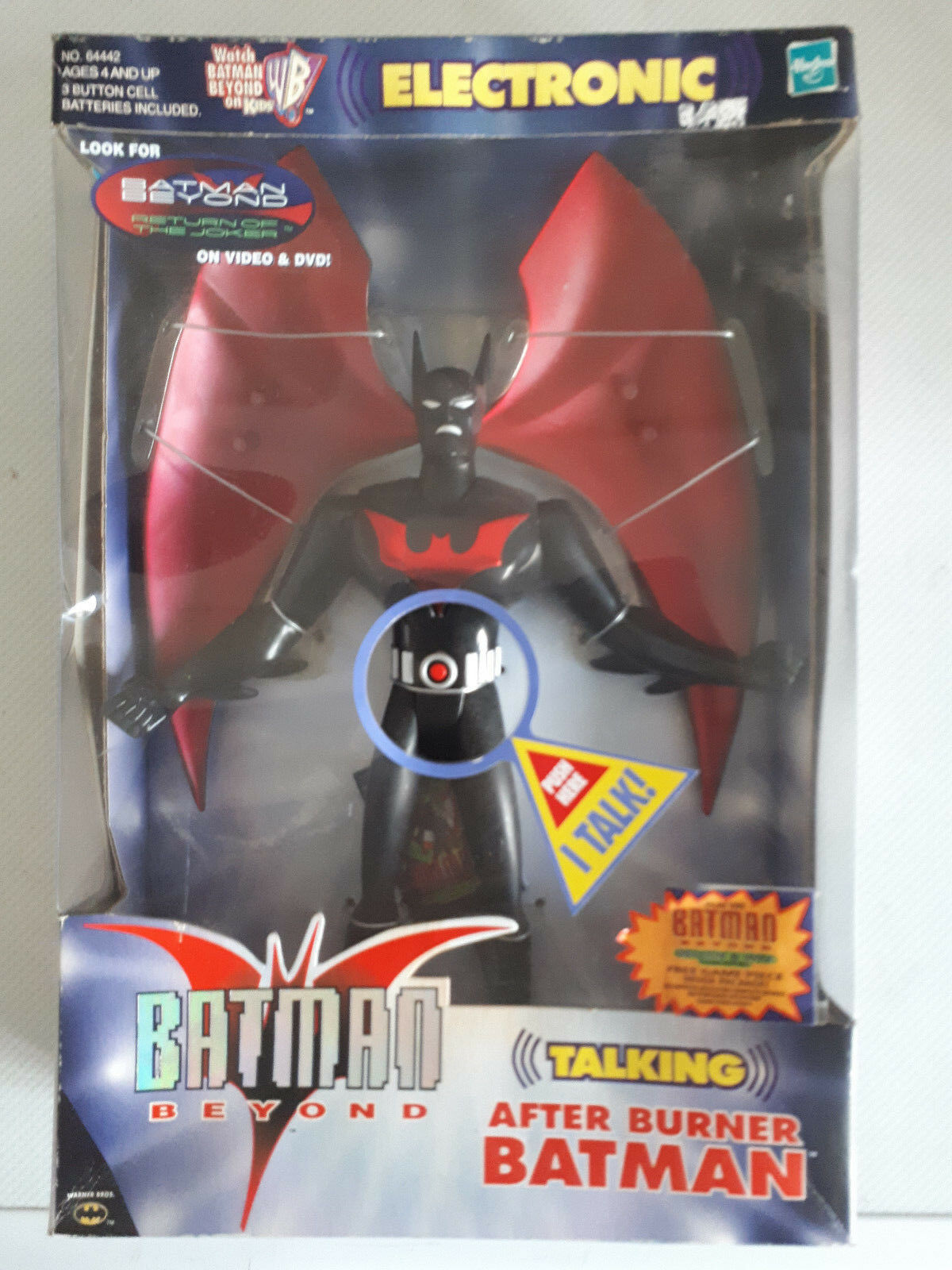 HASBRO Electronic BATMAN BEYOND After Burner Batman Large 12