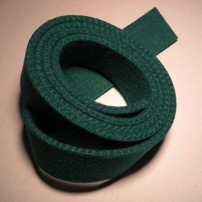"3//8/"" Wide Dk Green 52/"" Long .120/"" thick Repair Piano Action Cloth//Felt"