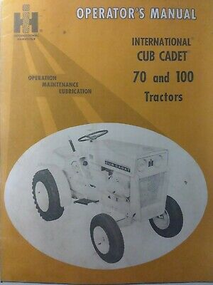 IH ID-9 Industrial Wheel Tractors Operator/'s manual