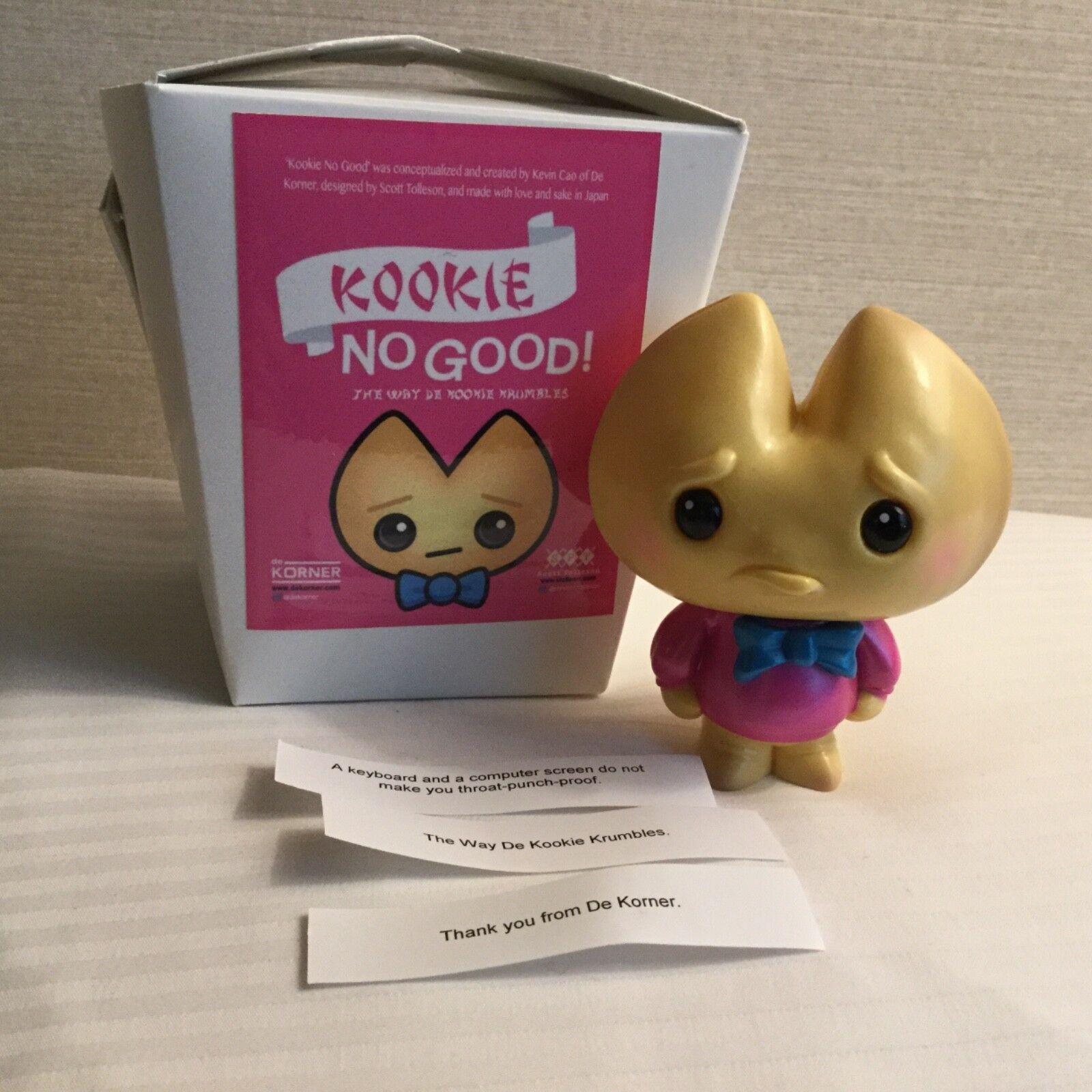 D Designer CON 2017 Exclusive De Korner Kao Fortune Kookie Vinyl Last LE 49