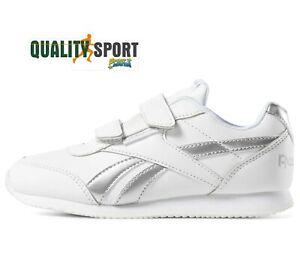 scarpe reebok bianche e argento