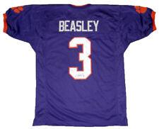 purchase cheap 4d671 c7ec0 Vic Beasley Jr Signed Clemson Tigers Orange Jersey JSA for ...