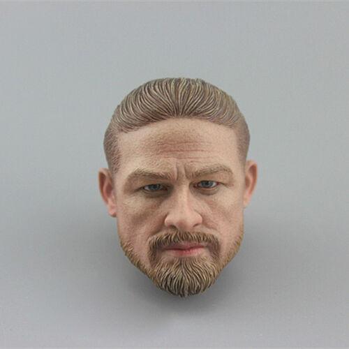 """DAMTOYS DAM 78060 1:6th 2018SHCC seal Head Sculpt For 12/"""" Male Figure"""