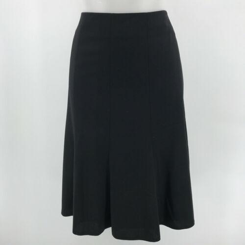 Akris Black Tulip Skirt Size 12