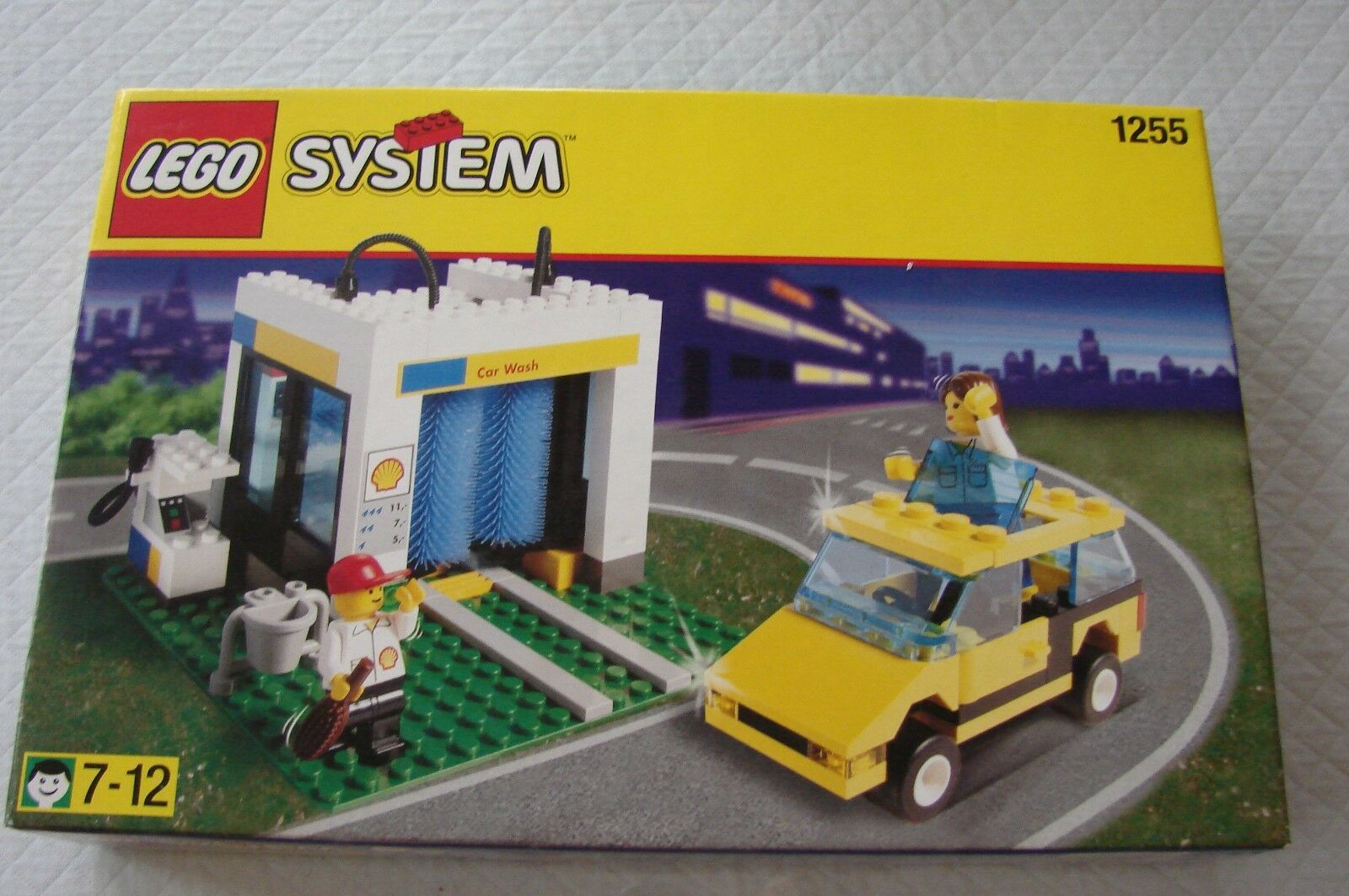 LEGO Shell lavado de autos, set 1255 Nuevo Sellado
