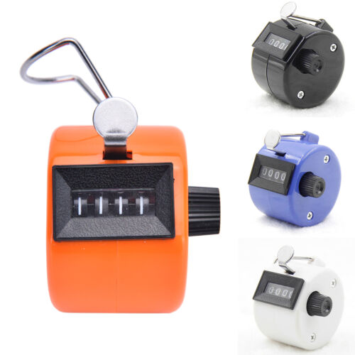Hand HeldTally Counter GolfManual NumberCounting/'Palm Clicker 4Digit Tasbeeh RR