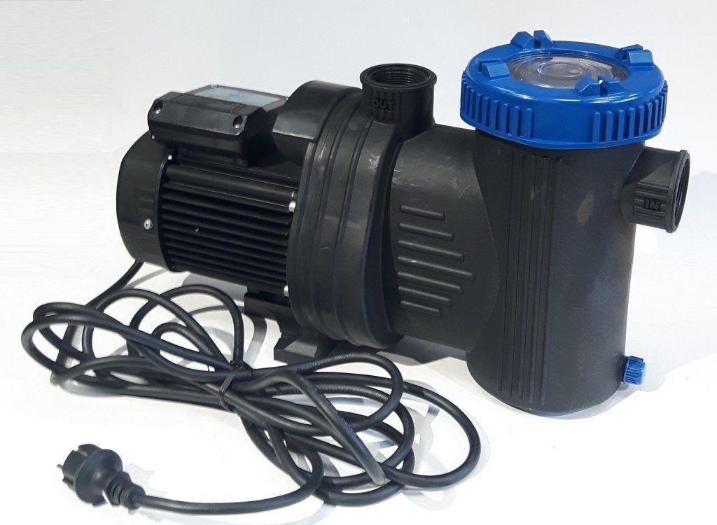 Motore Filtro Pompa Piscina Professionale SHOTT WP21000 15,3 M3 H 750W