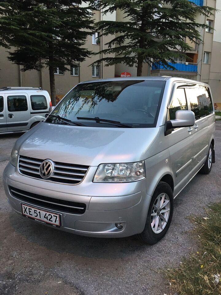 VW Multivan, 2,5 TDi 174 Comfortline 10prs, Diesel