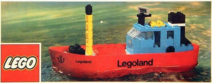 Lego Boats  310 Tug LEGOLe nuovo Sealed 1973'  nuovo di marca