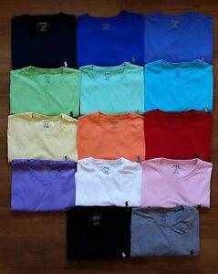NEW-Men-Polo-Ralph-Lauren-Crew-Neck-T-Shirt-Size-S-M-L-XL-XXL-STANDARD-FIT