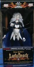 Chaos Comics Action Collect Figure Lady Death Darkness Golden Sword Power New