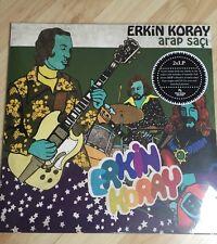 VINTAGE TURKISH PSYCH FUZZ SAZ E-Rock 2x LP Erkin Koray ARAP SACI - Baris Manco