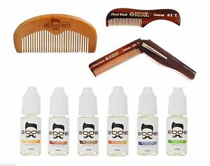 Beard Comb & Conditionong Oil Styling Kit